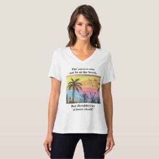 Answer At the Beach T-Shirt