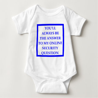 ANSWER BABY BODYSUIT