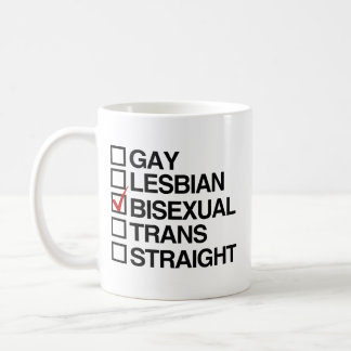 ANSWER BISEXUAL -.png Classic White Coffee Mug