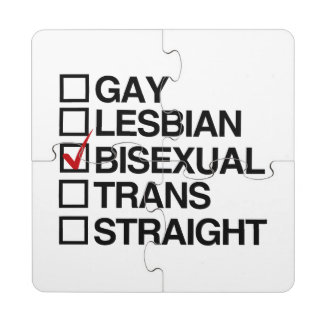 ANSWER BISEXUAL -.png Puzzle Coaster