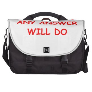 ANSWER BAG FOR LAPTOP