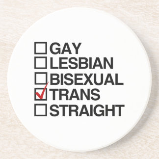 ANSWER TRANSEXUAL -.png Coaster