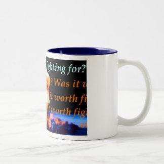 answermethis Two-Tone coffee mug