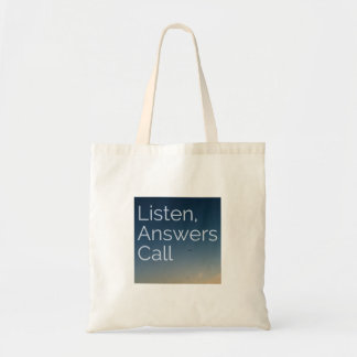 Answers Call Budget Tote Bag