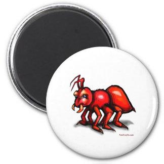 Ant 2 Inch Round Magnet