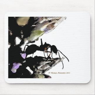ant   a mousepad