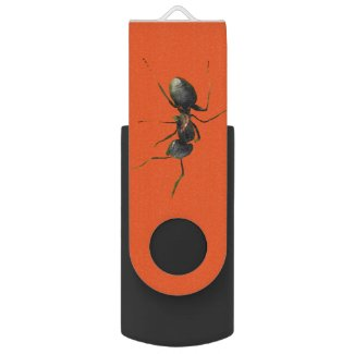 Ant Abstract USB 2.0 Flash Drive