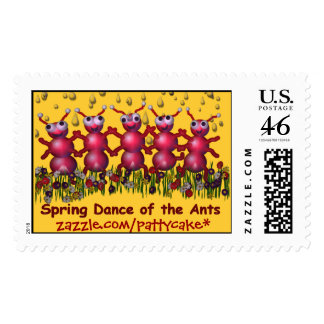 ant dance stamps