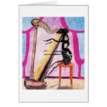 Ant Daphne Plays The Harp Card