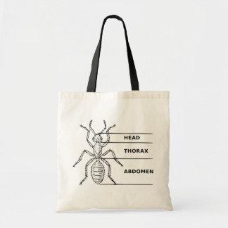 Ant Diagram Tote Bag