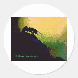 ant e classic round sticker