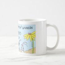Ant egg hunt coffee mug
