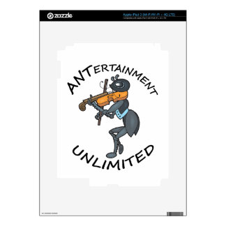 ANT Entertainment Unlimited, playing Fiddle Decals For iPad 3