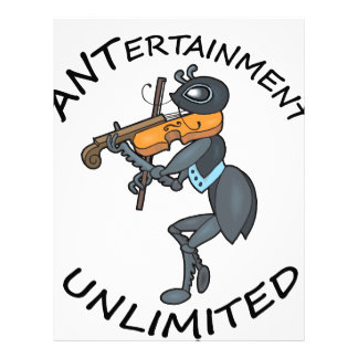 ANT Entertainment Unlimited, playing Fiddle Letterhead
