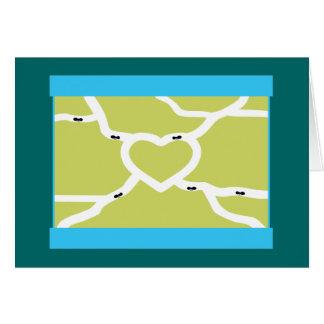 Ant Farm Love Card