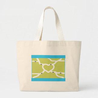 Ant Farm Love Large Tote Bag