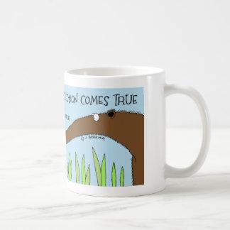 Ant gets a prediction coffee mug