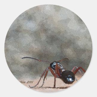 ant h classic round sticker