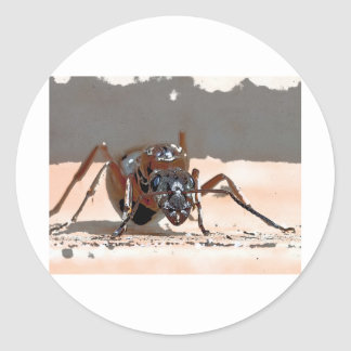 ant i classic round sticker