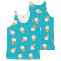 Ant Ice Cream All-Over-Print Tank Top