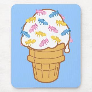 Ant Ice Cream Mouse Pad