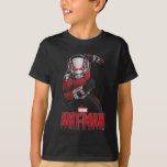 Ant-Man Leading The Charge T-Shirt