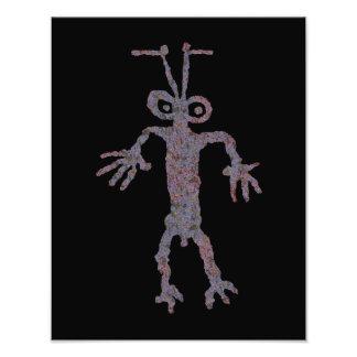Ant Man Petroglyph Photo Print