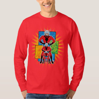 Ant-Man Shrinking Comic Panel Graphic T-Shirt