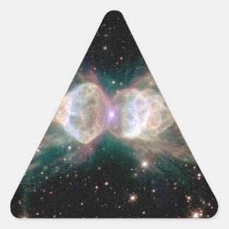 Ant Nebula Mz3 Triangle Sticker