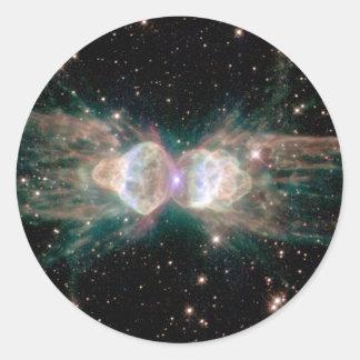 Ant Nebula Mz3 Classic Round Sticker