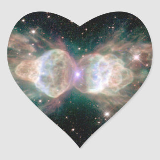 Ant Nebula Mz3 Heart Sticker
