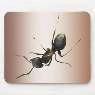 Ant on My Mousepad
