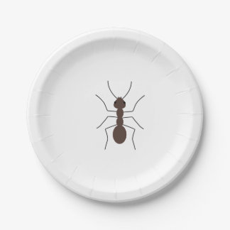 Ant Paper Plate