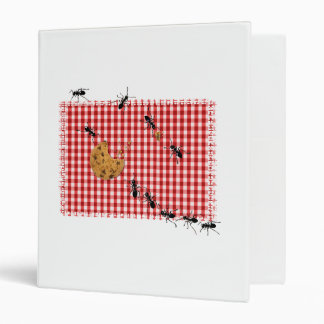 Ant Picnic 3 Ring Binder