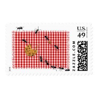 Ant Picnic Invite Postage Stamps