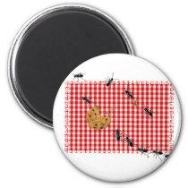 Ant Picnic Magnet
