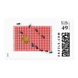Ant Picnic Stamp