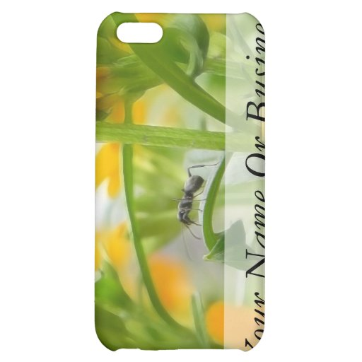 Ant Portrait With Siberian Wallflowers Case For iPhone 5C