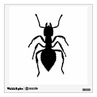 Ant Silhouette Wall Sticker