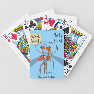 Ant Sisters Bicycle Playing Cards