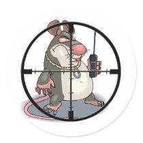 Ant-Snitch Scope Sight Sticker