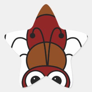 Ant Star Sticker