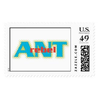 Ant Text Disney Postage Stamp