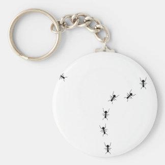 ant trail icon keychain