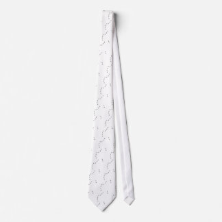 ant trail icon neck tie