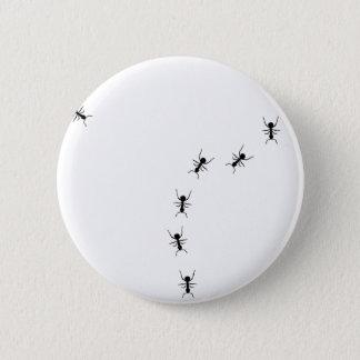 ant trail icon pinback button