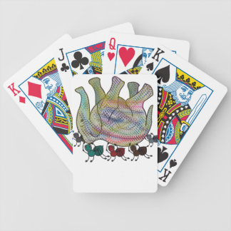 Ant vs elephant bicycle playing cards