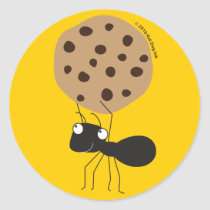 Ant with Cookie Stickers