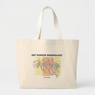 Ant Worker Morphology Tote Bags