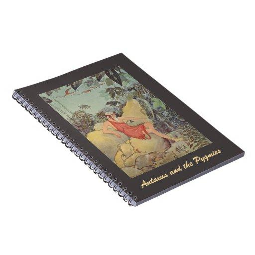 Antaeus y los pigmeos cuadernos